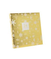 Šperkový adventní kalendář - zlatý