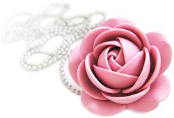 Staroružový náhrdelník kytička