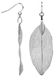 Stříbrné náušnice Vavřínové listy Laurel