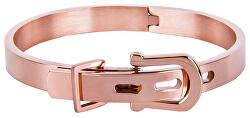 Brățară elegantă roz auriu