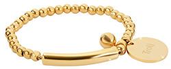 Stylový zlatý náramek