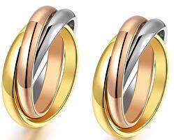 Zvýhodněná sada tricolor prstenů KRS-247 (obvod 49 a 54 mm)