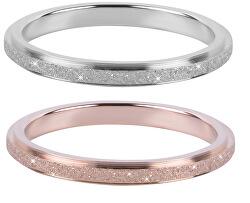 Zvýhodněná souprava prstenů z oceli, obvod 50 mm