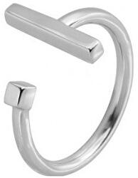 Minimalistický otevřený prsten z oceli RSS917