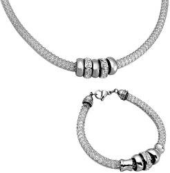 Souprava šperků SET117 ST (náramek, náhrdelník)