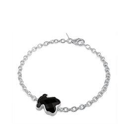 Silbernes Armband mit Teddybär aus Onyx 215431670