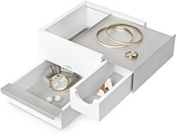 Šperkovnica STOWIT mini biela/nikel 1005314670