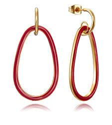 Luxus aranyozott fülbevalók medálokkal Air 15043E01012