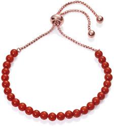 Náramok s červenými korálkami Chic 75120P01017