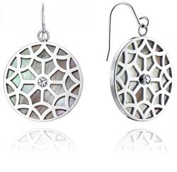 Ocelové náušnice s perletí Chic 75063E01010