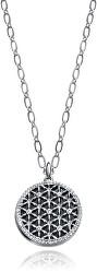 Oceľový náhrdelník s kryštálmi Kiss 3226C09010