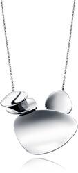 Oceľový náhrdelník s dizajnovou ozdobou Air 15008C09000