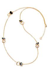 Pozlátený dámsky náhrdelník Fashion 3219C09012