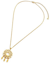 Pozlátený náhrdelník lapač snov Happiness 90047C01012