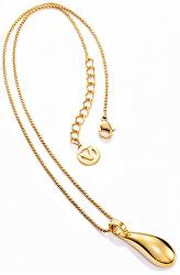 Pozlátený oceľový náhrdelník Air 50004C19012