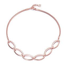 Štýlový bronzový náhrdelník Chic 60001C01017