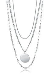 Stylový minimalistický náhrdelník Chic 15055C01000