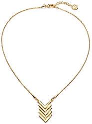 Štýlový pozlátený náhrdelník Fashion 3211C19012