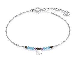 Stilvolles Silberarmband mit Perlen 4049P100-43