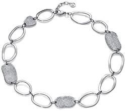 Trendy ocelový náhrdelník Air 15009C01000