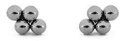 Minimalistické ocelové náušnice Irakli Silver