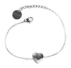 Romantisches Stahlarmband Silver