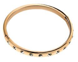 Elegantní pozlacený náramek s krystaly VB1083G