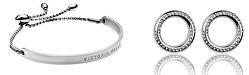 Sada oceľových šperkov VS1061S (náramok, náušnice)