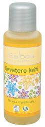Bio tělový a masážní olej - Devatero kvítí