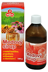 PM Medový sirup s materskou kašičkou, propolisom, echinaceou a vitamínom C 100 g