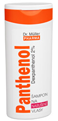 Panthenol šampón na narušené vlasy 250 ml