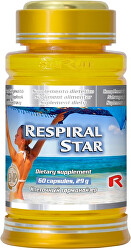 RESPIRAL STAR 60 kapsúl
