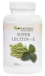 Super Lecitín + E 100 tob.