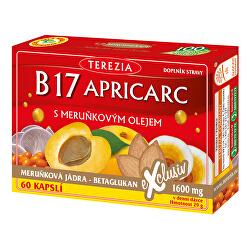 B17 APRICARC s marhuľovým olejom 50 kapsúl + 10 kapsúl ZADARMO