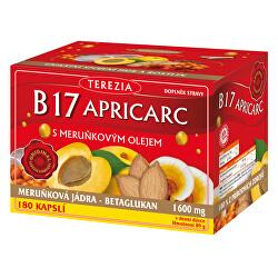 B17 Apricarc s marhuľovým olejom 150 kapsúl + 30 kapsúl ZDARMA