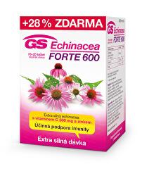 GS Echinacea FORTE 600 70 tbl. + 20 tbl. ZADARMO