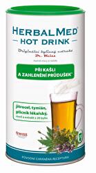 HerbalMed Hot Drink Dr. Weiss - kašeľ, priedušky 180 g