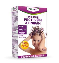 Paranit Spray 60 ml + 40 ml sampon GRATUIT + 100 ml GRATUIT + Crest GRATUIT