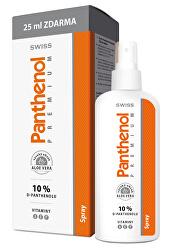 Panthenol 10% Swiss PREMIUM - spray 150 ml + 25 ml ZADARMO