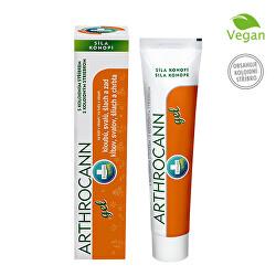 Arthrocann - gel z konopí s koloidním stříbrem na klouby, svaly, šlachy 75 ml