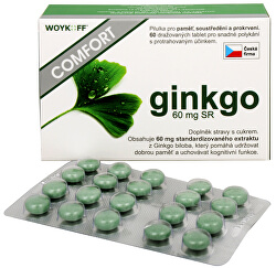 Ginkgo Comfort 60 mg SR 60 tbl.