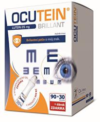 OCUTEIN Brillant Luteín 25 mg 90 tob. + 30 tob. ZD ARMA + darček
