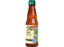 Bio Ľanový olej 250 ml - za studena lisovaný