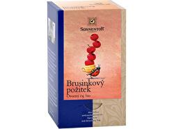 Porție de ceai Organic Cranberry Enjoying. două camere 50,4 g (18 pungi)