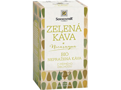 Bio Zelená káva, nepražená 18 x 3 g