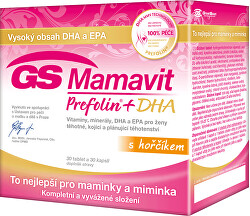 GS Mamavit Prefolin + DHA 30 tbl. + 30 kapsúl