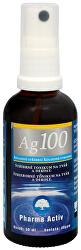 Koloidné striebro Ag100 (40ppm) spray 50 ml