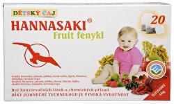 Hannasaki Fruit fenikel - detský ovocný čaj 20 sáčkov