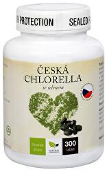 Česká chlorella se selenem 300 tbl.