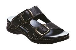 D pantofi de sănătate pentru femei / 10/60 / CP negru